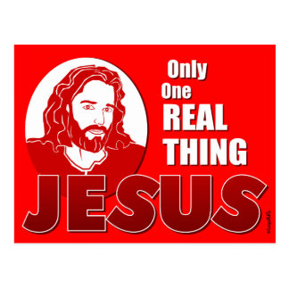 One Real Thing: Jesus Postcard