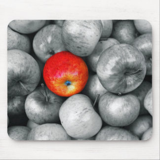One Red Apple Mouse Pad