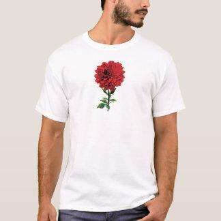 One Red Dahlia Mens T-Shirt