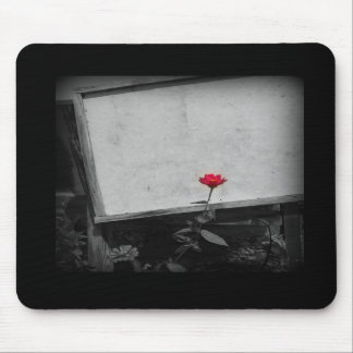 One Red Flower Mousepad
