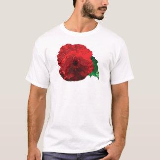 One Red Poppy Mens T-Shirt