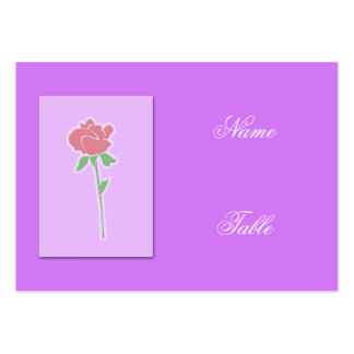 One Red Rose Business Card