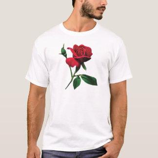 One Red Rosebud Men's T-Shirts