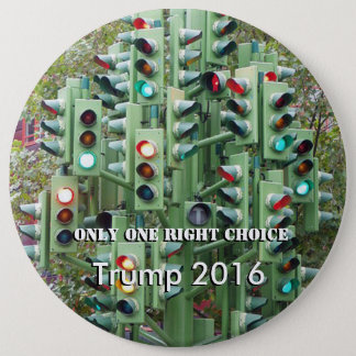 One right choice Trump button