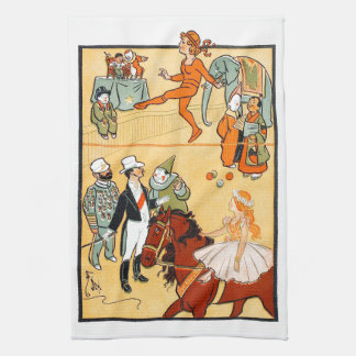 One Ring Circus: The Ringmaster & Crew Hand Towel