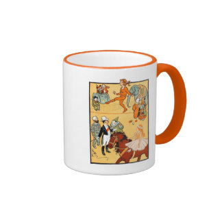 One Ring Circus: The Ringmaster & Crew Ringer Coffee Mug