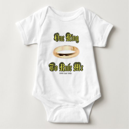 One Ring to Rule Me Baby Bodysuit