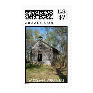ONE ROOM SCHOOL HOUSE - Customized - Customized Postage