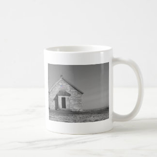One Room School in Black and White Selective Color Coffee Mug