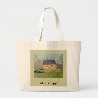 One-room Schoolhouse Jumbo Tote Bag