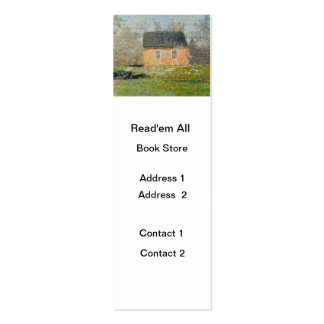 One-room Schoolhouse Double-Sided Mini Business Cards (Pack Of 20)