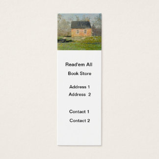 One-room Schoolhouse Mini Business Card