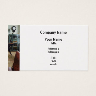 One Room Schoolhouse - Platinum Finish Business Card