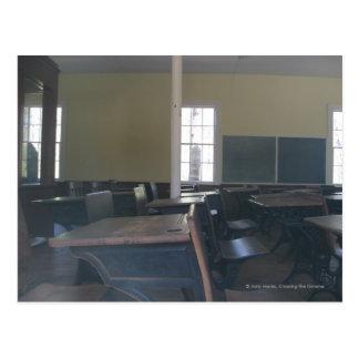 One Room Schoolhouse Postcard