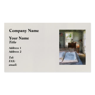 One Room Schoolhouse with Book Double-Sided Standard Business Cards (Pack Of 100)