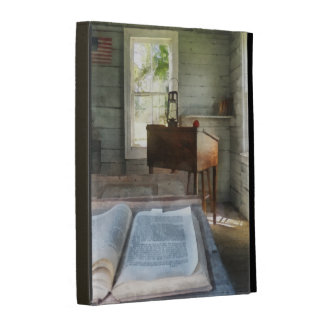 One Room Schoolhouse with Book iPad Case