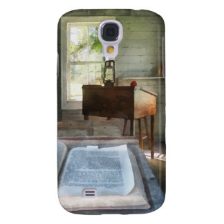 One Room Schoolhouse with Book Galaxy S4 Cover
