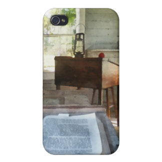 One Room Schoolhouse with Book iPhone 4/4S Case