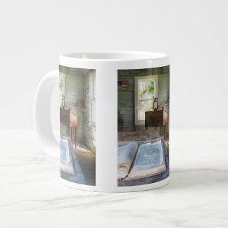 One Room Schoolhouse with Book Large Coffee Mug