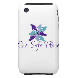 One Safe Place iPhone Case Tough iPhone 3 Cases