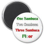 One Sambuca Fridge Magnet