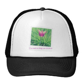 one second can change your life forever trucker hat