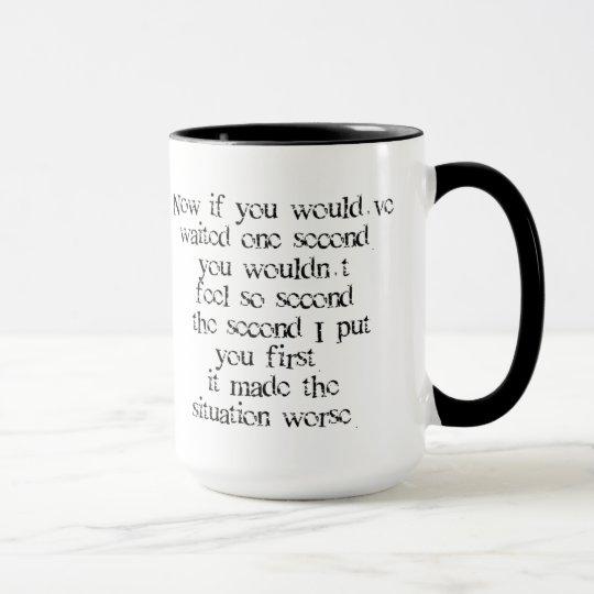 One Second Mug