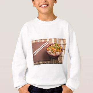 One serving of rice vermicelli hu-teu sweatshirt