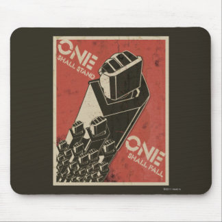 One Shall Stand (Bot Fists) Mouse Pad