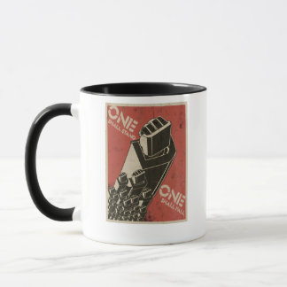One Shall Stand (Bot Fists) Mug