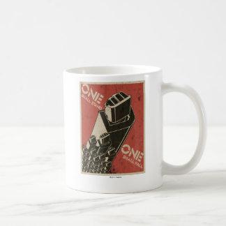 One Shall Stand (Bot Fists) Mugs
