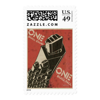 One Shall Stand (Bot Fists) Stamps