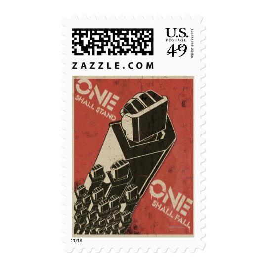 One Shall Stand (Bot Fists) Postage
