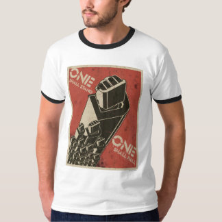 One Shall Stand (Bot Fists) Shirts