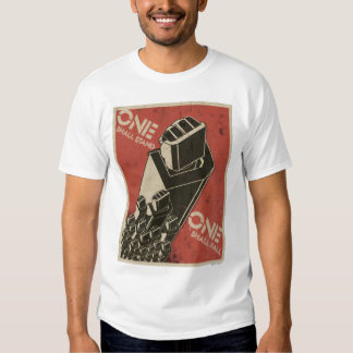 One Shall Stand (Bot Fists) T-shirt