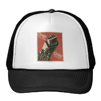 One Shall Stand (Bot Fists) Trucker Hat