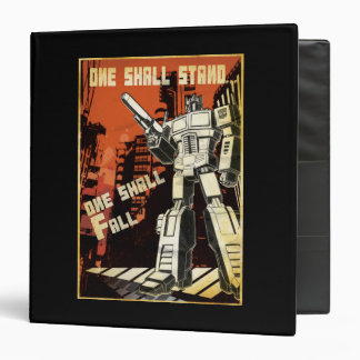 One Shall Stand (Urban) 3 Ring Binder