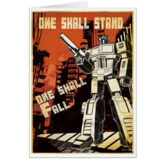 One Shall Stand (Urban) Greeting Card