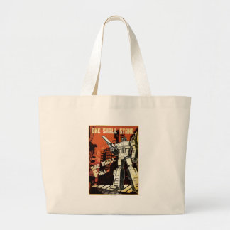 One Shall Stand (Urban) Jumbo Tote Bag
