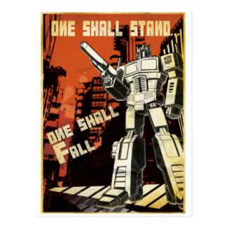 One Shall Stand (Urban) Postcard