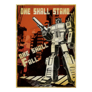 One Shall Stand (Urban) Poster