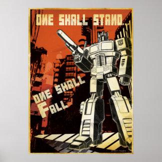 One Shall Stand (Urban) Print