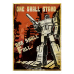 One Shall Stand (Urban) Print