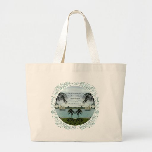 One Ship Sails East . . . another West Jumbo Tote Bag