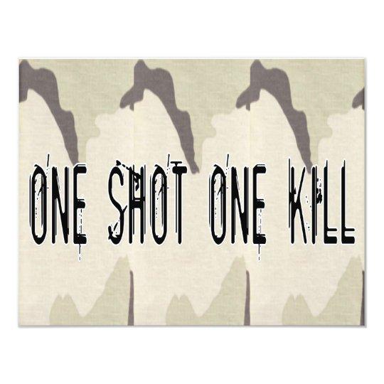One Shot One Kill Card