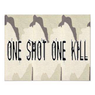 One Shot One Kill Card