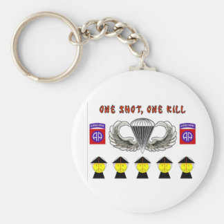 ONE SHOT, ONE KILL KEYCHAIN