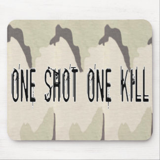 One Shot One Kill Mouse Pad