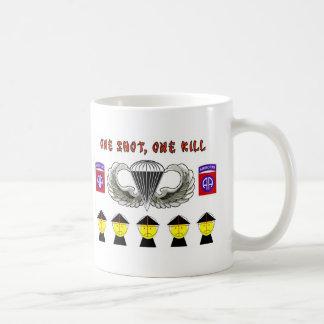 ONE SHOT, ONE KILL COFFEE MUGS