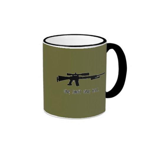 One Shot One Kill Mugs